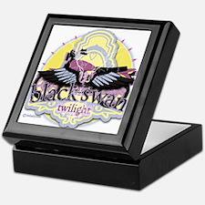 Black Swan Twilight Keepsake Box