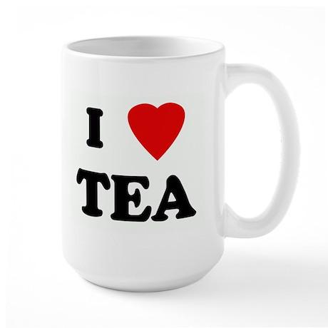 I Love TEA Large Mug