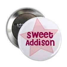 "Sweet Addison 2.25"" Button (10 pack)"