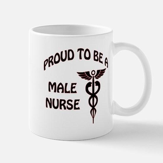 PROUD TO BE A MALE NURSE Mugs