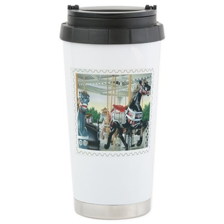 Carousel Stainless Steel Travel Mug