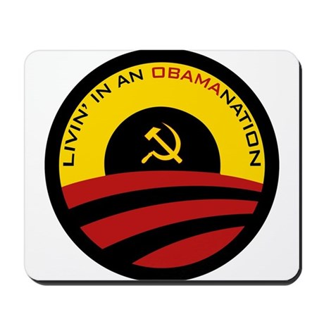 Livin' in an Obamanation Mousepad