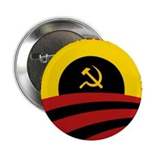 """Livin' in an Obamanation 2.25"""" Button"""