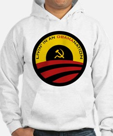 Livin' in an Obamanation Hoodie