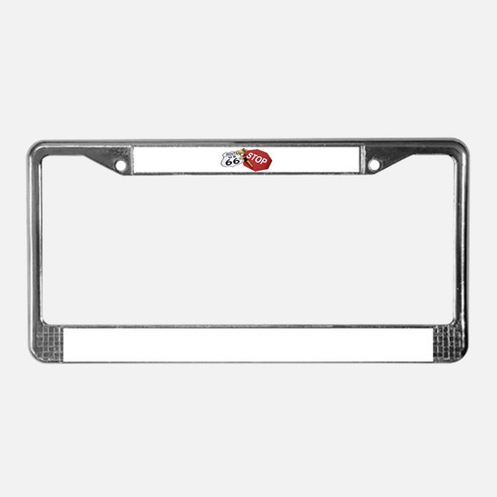 Cute Retirement signs License Plate Frame