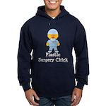 Plastic Surgery Chick Hoodie (dark)