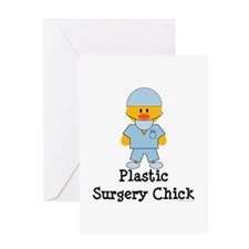 Plastic Surgery Chick Greeting Card