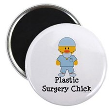 "Plastic Surgery Chick 2.25"" Magnet (10 pack)"