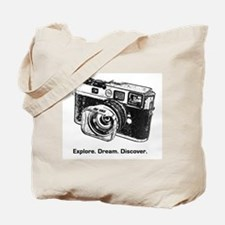 Cute Camera Tote Bag