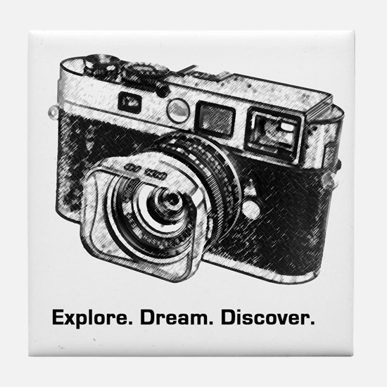 Cool Camera Tile Coaster