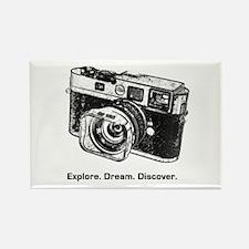 Unique Camera Rectangle Magnet (100 pack)