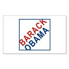 BARACK OBAMA - Rectangle Decal