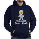 Transplant Surgery Chick Hoodie (dark)