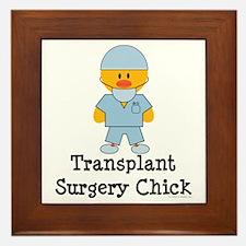 Transplant Surgery Chick Framed Tile