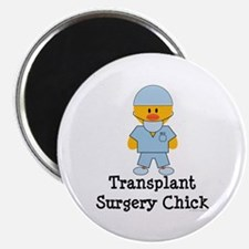 """Transplant Surgery Chick 2.25"""" Magnet (10 pack)"""