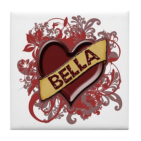 Bella Flourishes Tile Coaster