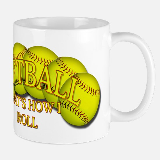 Softballs roll Mug
