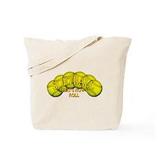 Softballs roll Tote Bag
