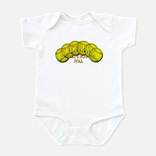 Softballs roll Infant Bodysuit