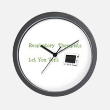 Unique Respiratory care Wall Clock