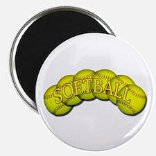 Softballs Magnet