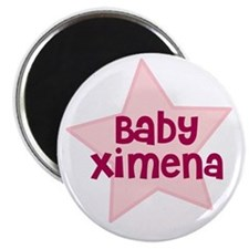 Baby Ximena Magnet