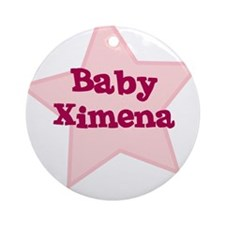 Baby Ximena Ornament (Round)
