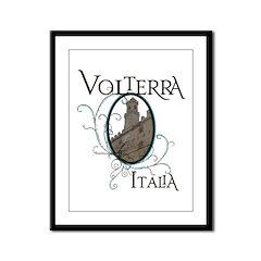 Volterra Italia Framed Panel Print