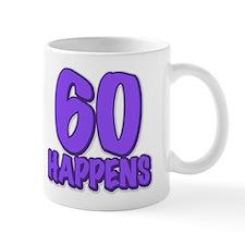 60th birthday, 60 happens! Mug