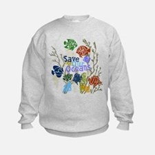 Save the Oceans Sweatshirt