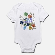Save the Oceans Infant Bodysuit