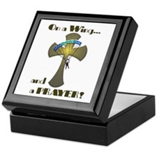 Wing and a Prayer Keepsake Box