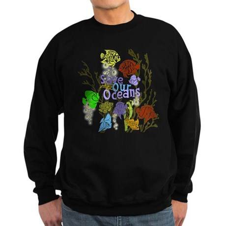 Save the Oceans Sweatshirt (dark)