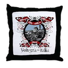 St. Marcus Day - Volterra Italia Throw Pillow