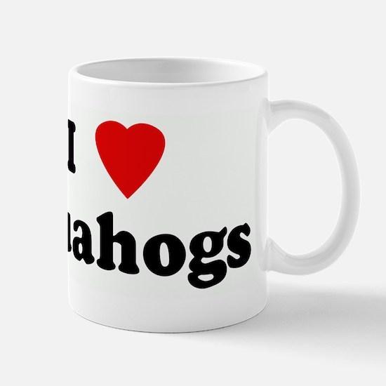 I Love Quahogs Mug