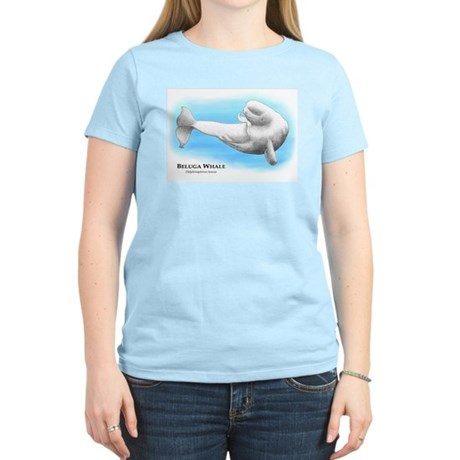 Beluga Whale Women's Light T-Shirt