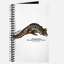 Argentine Black and White Tegu Journal