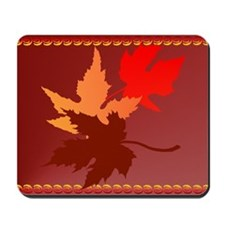 Three Leaves Mousepad