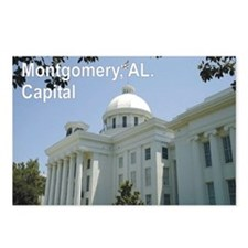 Montgomery, Alabama Capital building Postcards (Pa