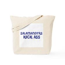 Salamanders Kick Ass Tote Bag