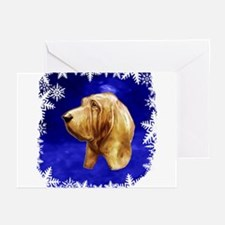 Blood Hound Greeting Cards (Pk of 10)