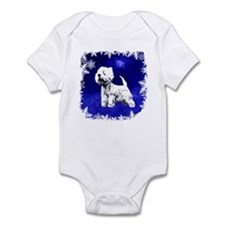 west highland terrier, westie Infant Bodysuit
