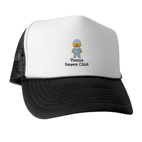 Trauma Surgery Chick Trucker Hat