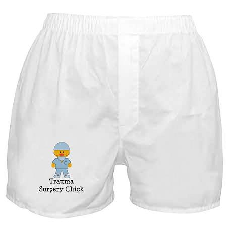 Trauma Surgery Chick Boxer Shorts
