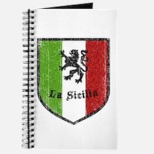 La Sicilia Vintage Flag Journal