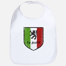 La Sicilia Vintage Flag Bib