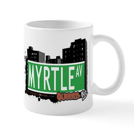 MYRTLE AVENUE, QUEENS, NYC Mug
