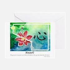 Heart. Tao Meditations Greeting Card
