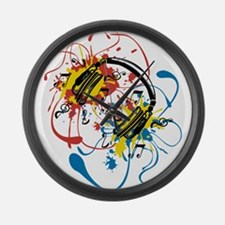 Explosion Large Wall Clock