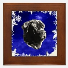 neapolitan mastiff Framed Tile